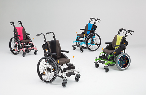 子供用モジュール車椅子 ル~ク。
